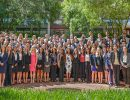 Students from the UF College of Medicine class of 2020 attend first-year orientation.