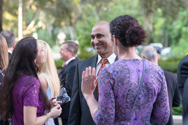 Ophthalmology chair Dr. Sonal Tuli attends the gala along with other faculty and friends of the college. Photo by Jesse S. Jones
