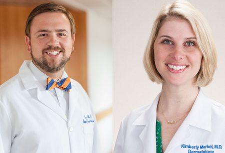 Dr. Ryan Nall and Dr. Kimberly Merkel