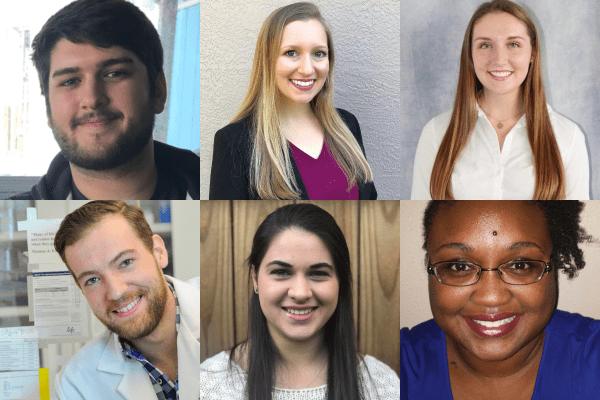 A grid of six portraits: Joe Dragone, Alexis Fohn, Kaitlyn Laventure, Corey Moran, Jordan Moretta and Tameishia Olden