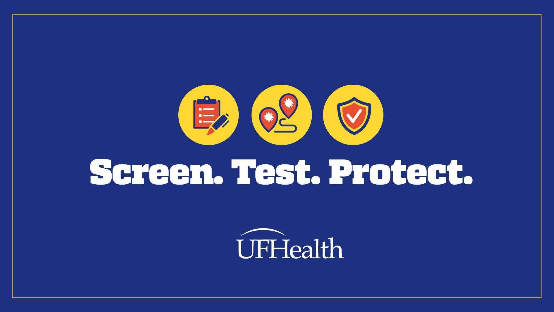 U-F Health Screen, Test and Protect initiative