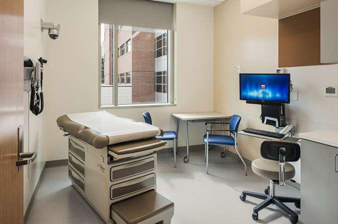 Mock exam room